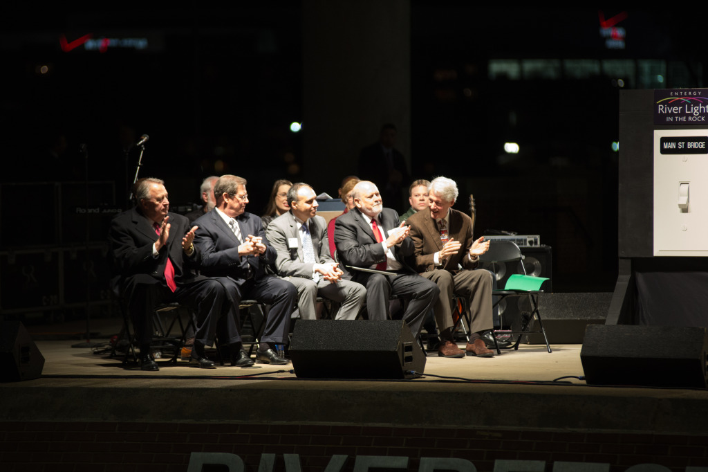 River Lights in the Rock: Illumination Day ceremony