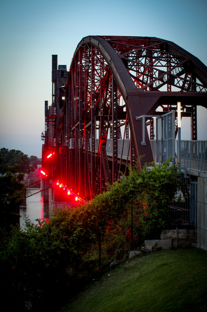 Clinton Presidential Park Bridge, Little Rock, Arkansas