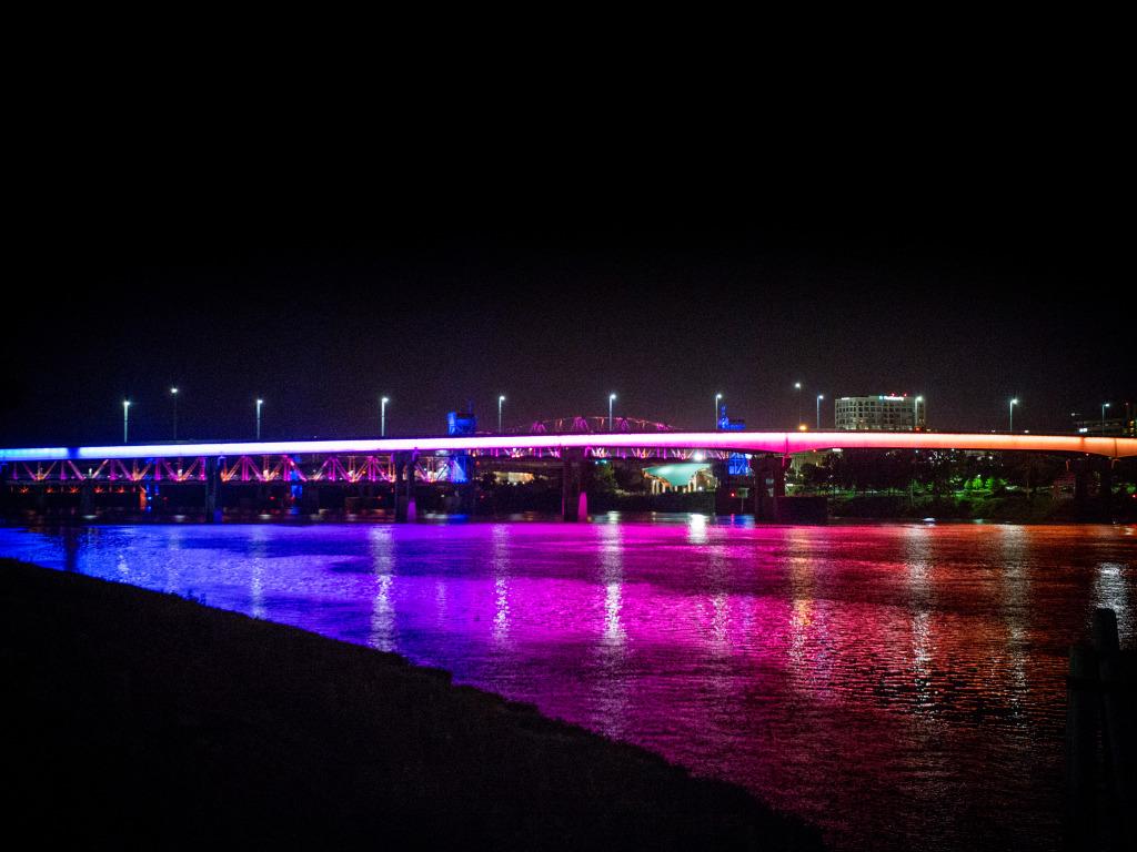 Main Street Bridge, Little Rock, Arkansas